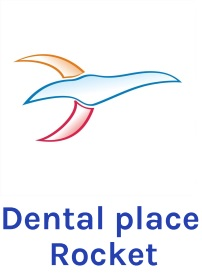 Dental Place Rocket Logo